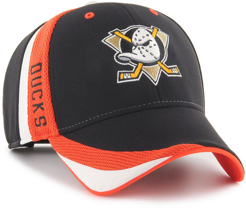 Anaheim Ducks 47 Brand Neutral Zone MVP Adjustable NHL Team Cap