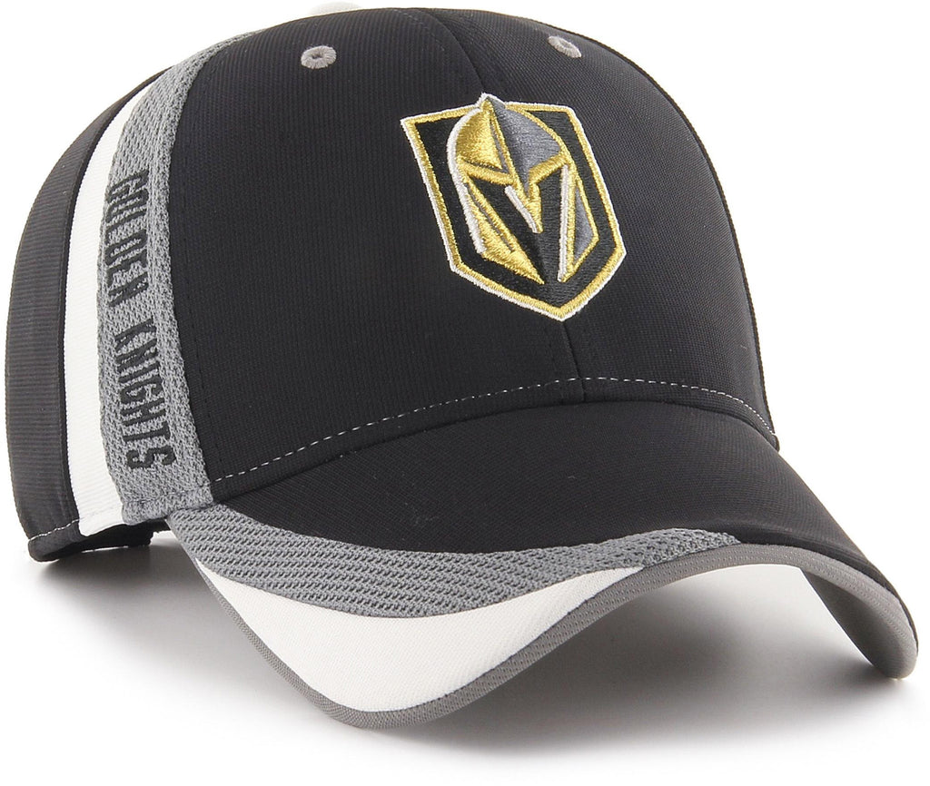 Vegas Golden Knights 47 Brand Neutral Zone MVP Adjustable NHL Team Cap - pumpheadgear, baseball caps