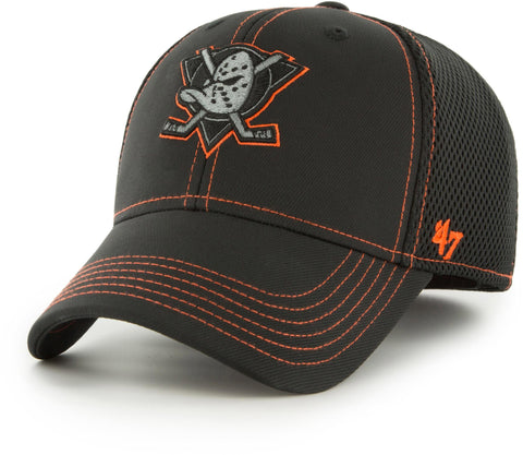 Anaheim Ducks 47 Brand Stronaut Stretch Fit NHL Cap - pumpheadgear, baseball caps