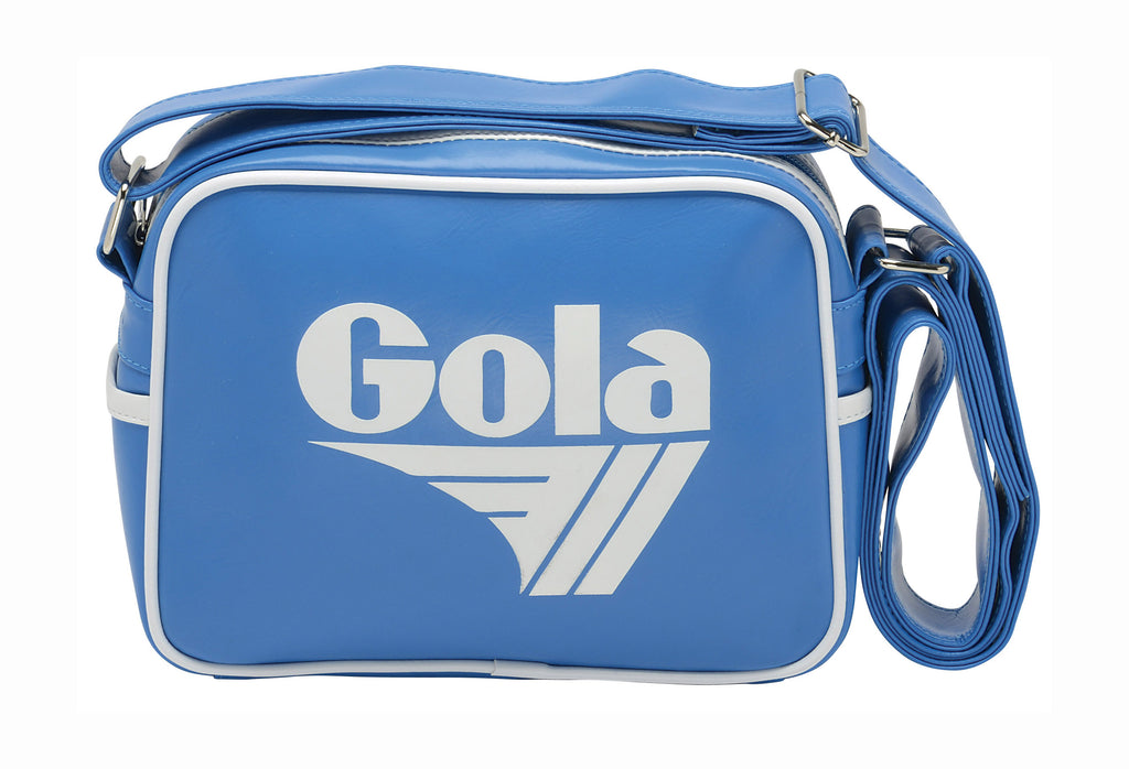 Gola Micro Redford Messenger Bag - Blue / White - pumpheadgear, baseball caps