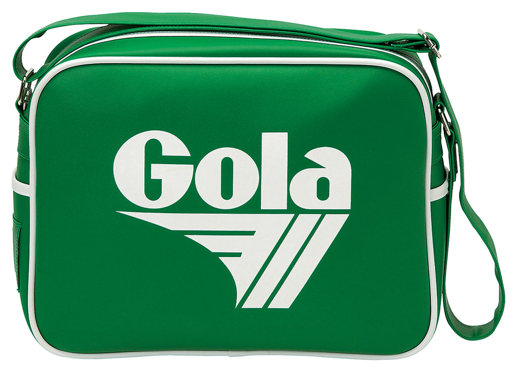 Gola Classic Redford Messenger Bag - Apple / White - pumpheadgear, baseball caps