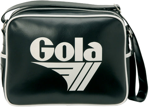 Gola Classic Redford Messenger Bag - Black/ White - pumpheadgear, baseball caps