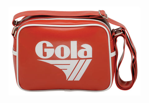 Gola Micro Redford Messenger Bag - Red / White - pumpheadgear, baseball caps