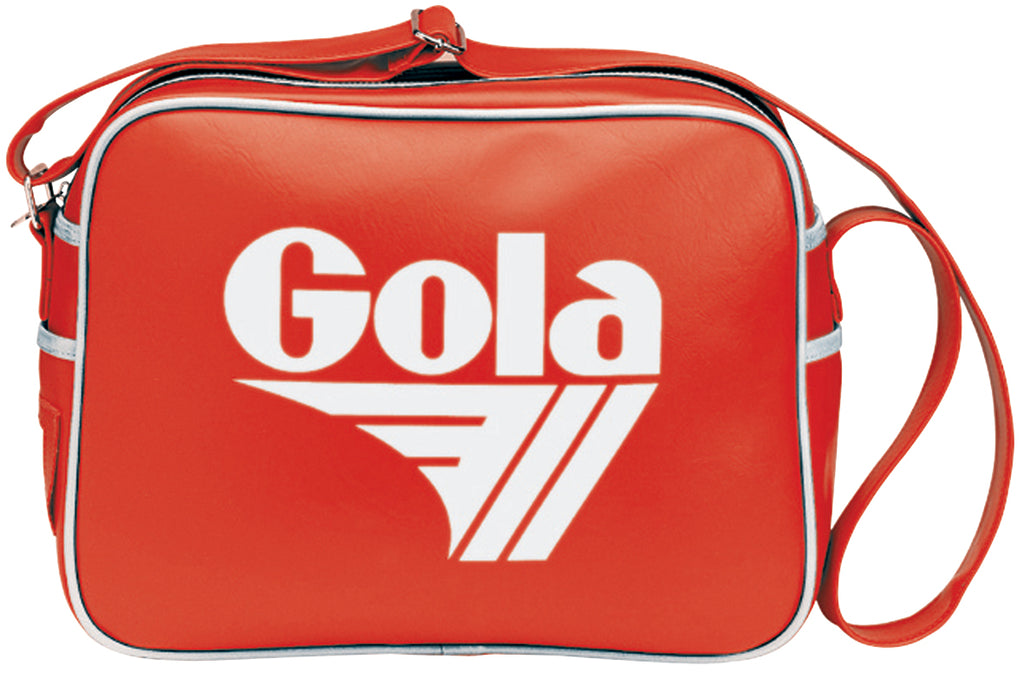 Gola Classic Redford Messenger Bag - Red / White - pumpheadgear, baseball caps