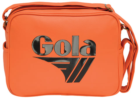 Gola Redford Tournament Messenger Bag - Orange/Black - pumpheadgear, baseball caps