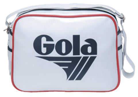 Gola Classic Redford Messenger Bag - White / Navy / Red - pumpheadgear, baseball caps