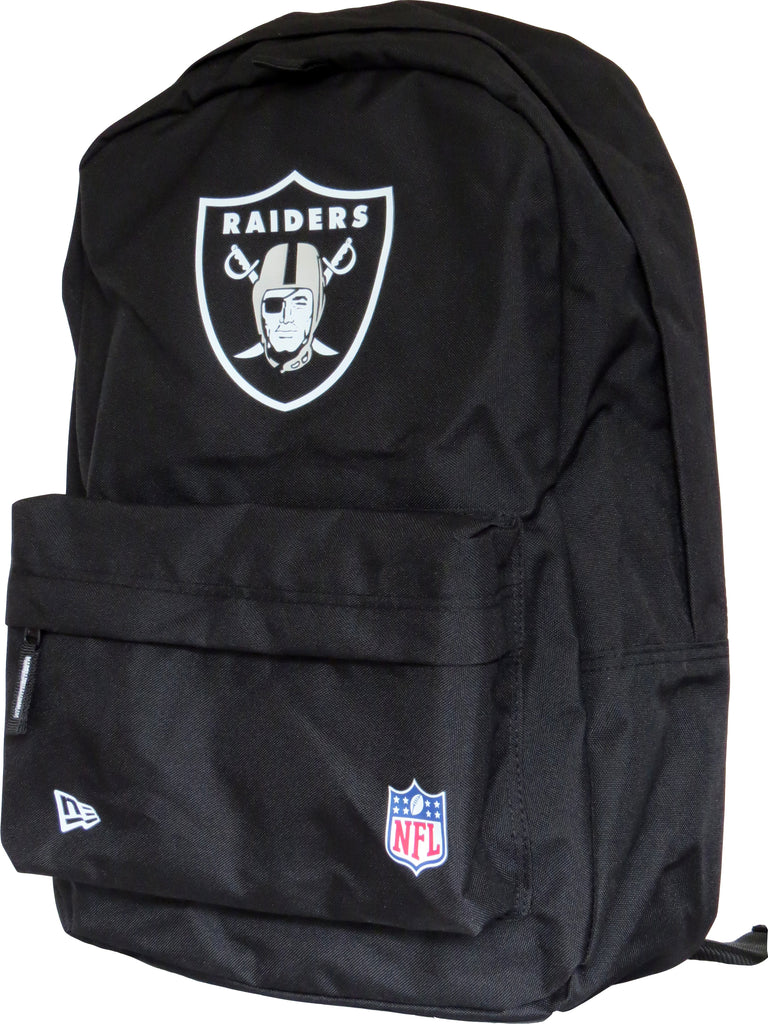 Raiders New Era NFL Black Stadium Backpack