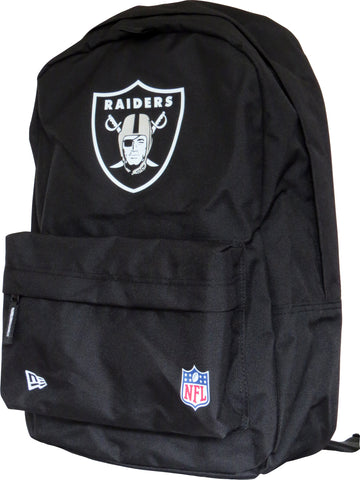 Raiders New Era NFL Black Stadium Backpack - pumpheadgear, baseball caps