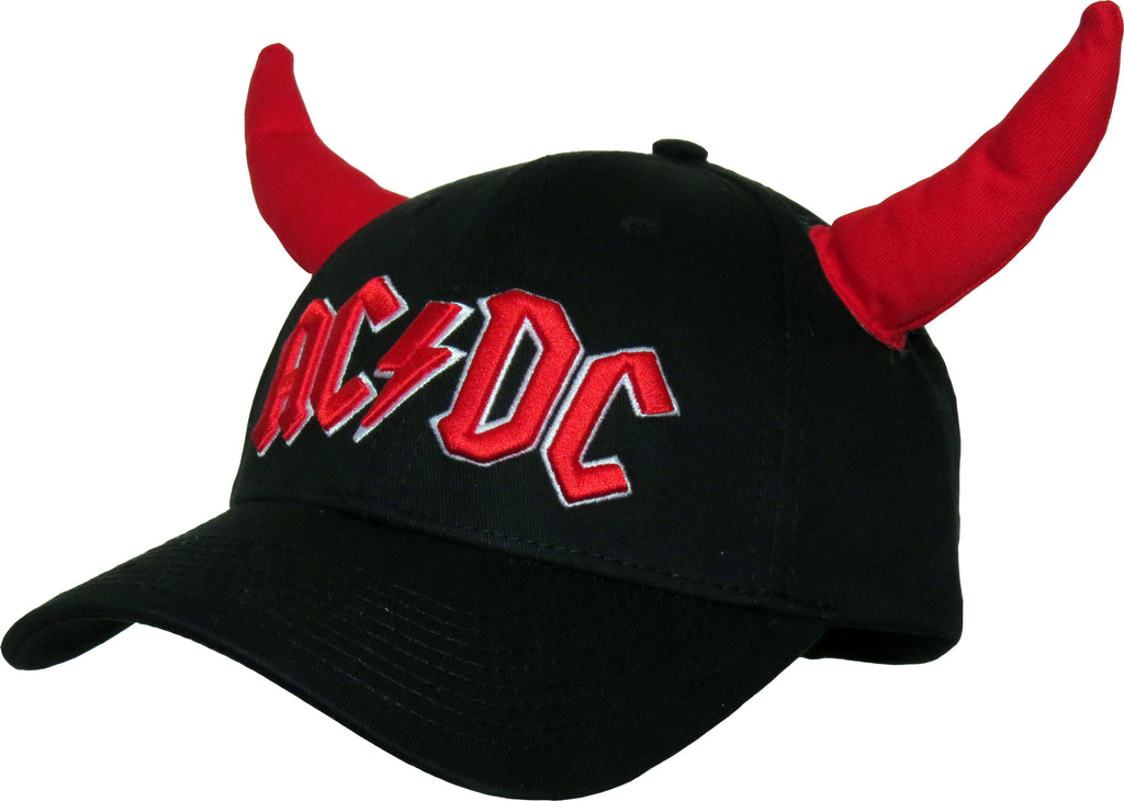 AC/DC Hells Bells Black Adjustable Baseball Cap - pumpheadgear, baseball caps