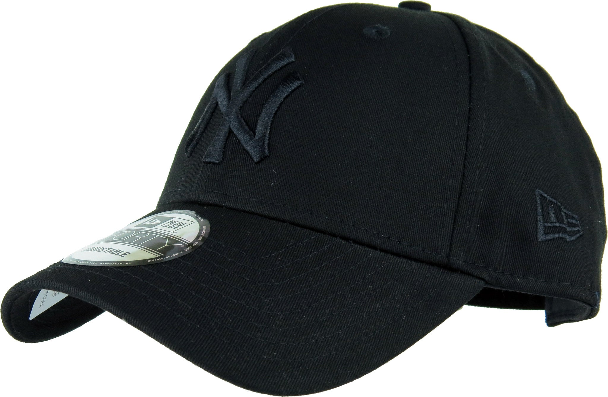 d119ee724af New Era 940 League Essential NY Yankees Baseball Cap - Black Black -  pumpheadgear