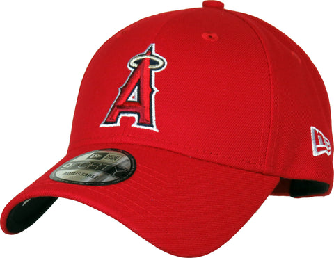 Anaheim Angels New Era 940 The League Pinch Hitter Baseball Cap - pumpheadgear, baseball caps