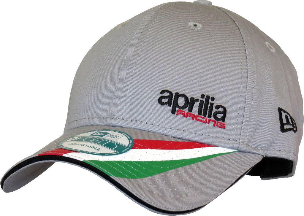 2a7fcba7829 Aprilia Racing New Era 940 Grey Cap