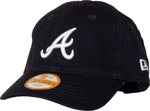 New Era 940 My 1st Atlanta Braves Stretch Fit Infants Navy Cap (0-2 years)