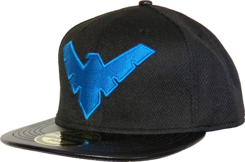 DC Comics Batman Nightwing Black Snapback Cap - pumpheadgear, baseball caps
