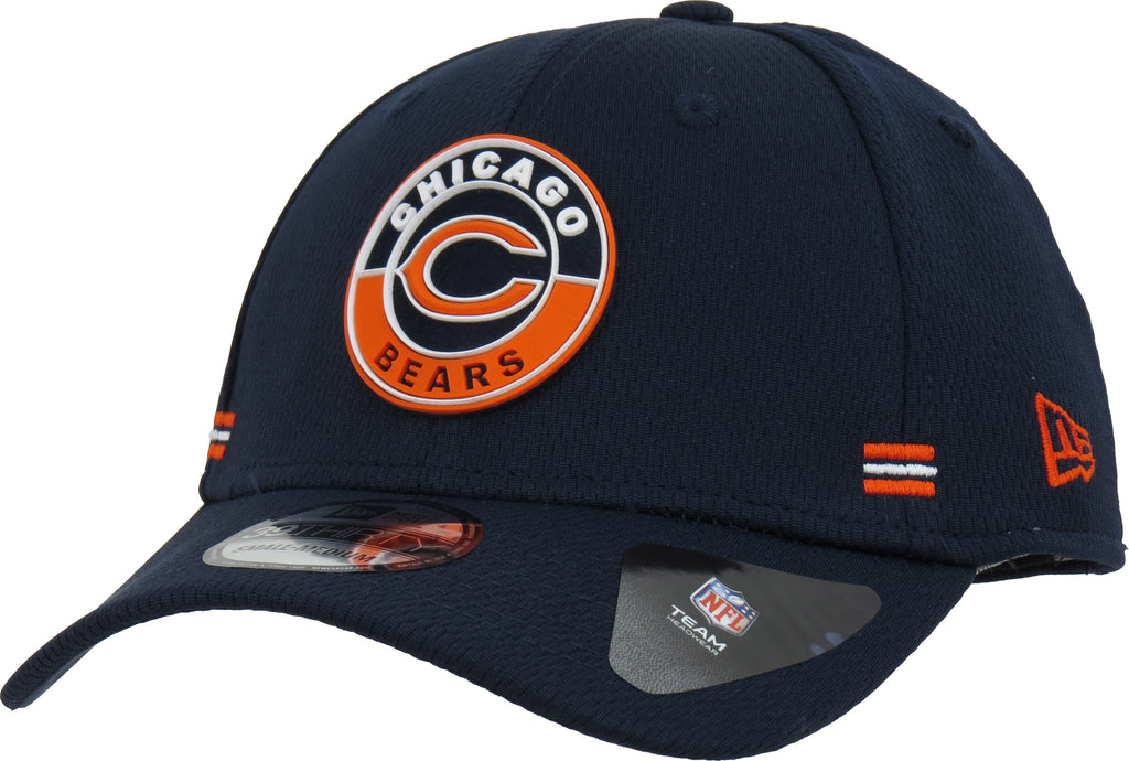 Chicago Bears New Era 3930 NFL 2020 Alt Road Stretch Fit Cap