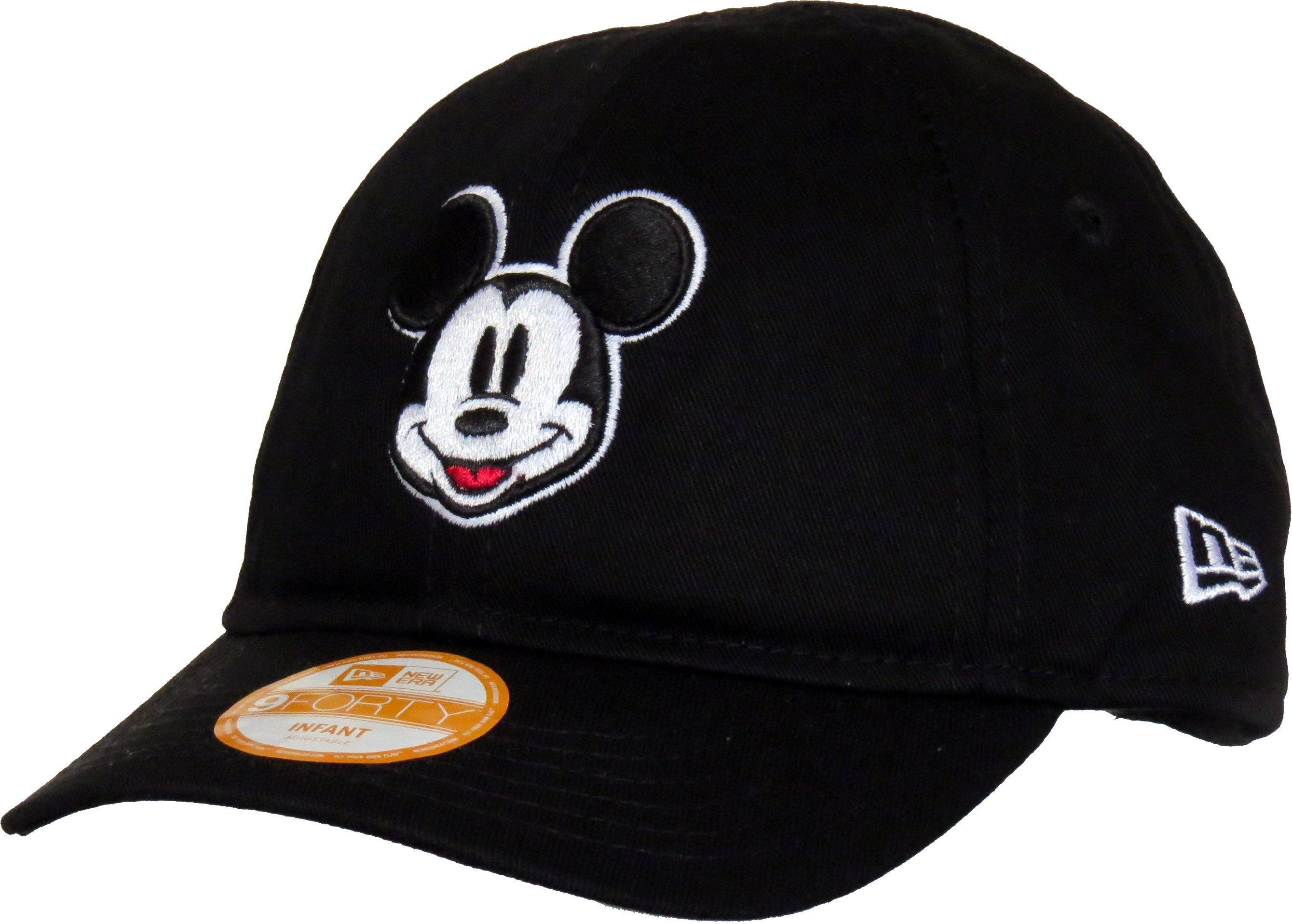 Mickey Mouse New Era 940 Stretch Fit Infants Black Cap (0-2 years) ... b96ea4825cb