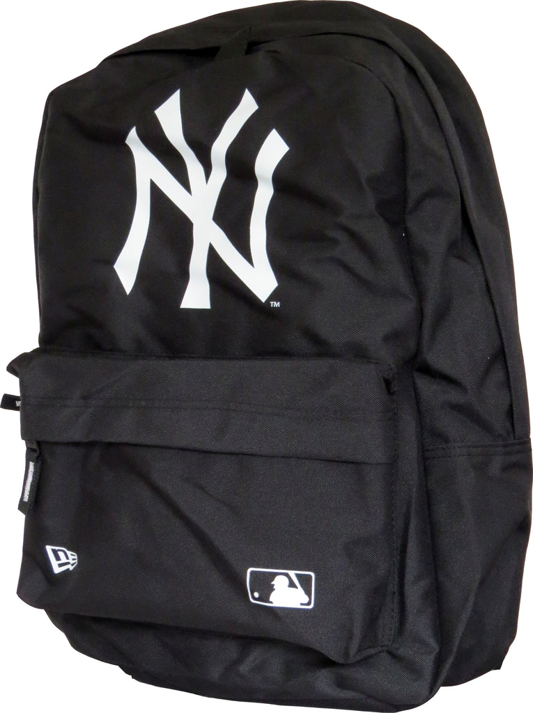 NY Yankees New Era MLB Black Stadium Backpack