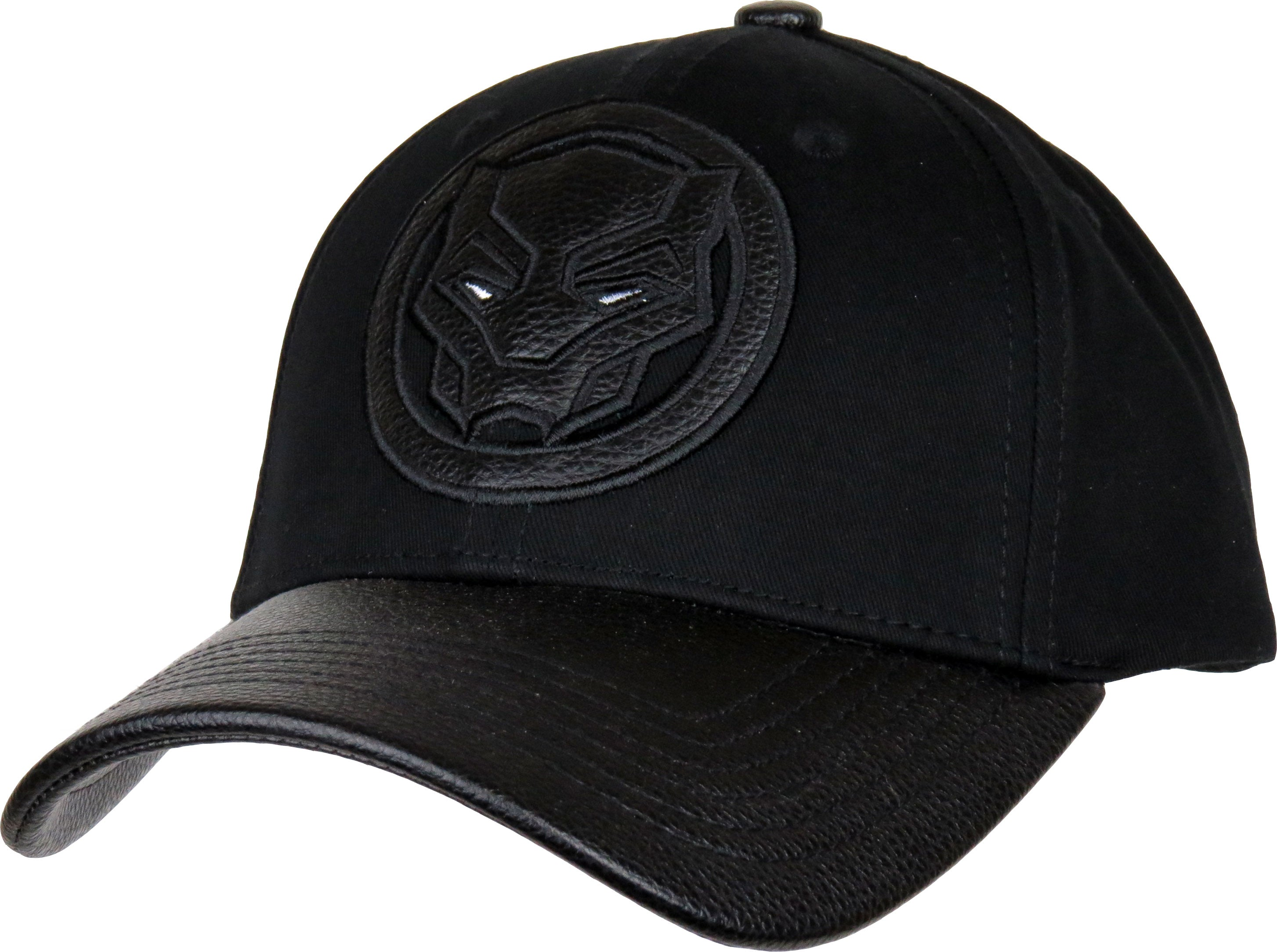 the latest 1df0a 175d7 Marvel Comics Black Panther Adjustable Black Cap - pumpheadgear, baseball  caps ...