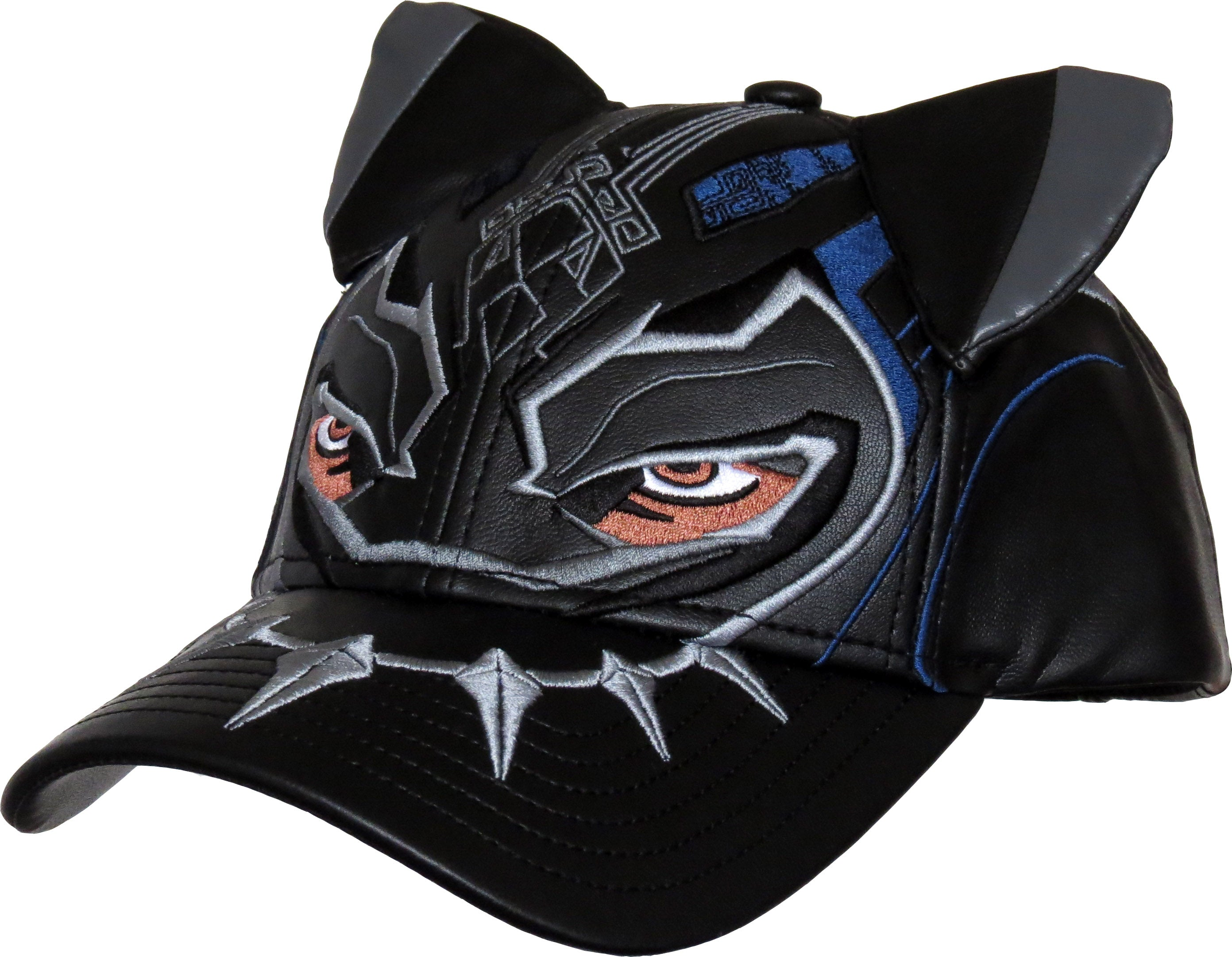 size 40 98b6b 04462 Marvel Comics Black Panther Mask Adjustable Cap - pumpheadgear, baseball  caps ...