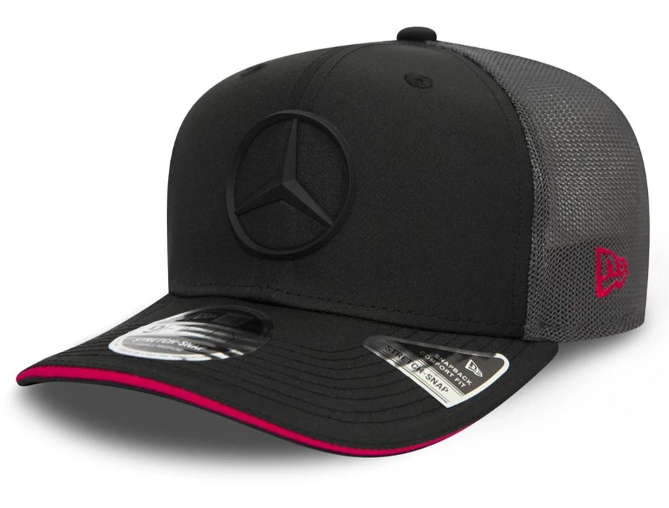 Mercedes AMG Petronas New Era 950 Black Stretch Snapback Cap - pumpheadgear, baseball caps