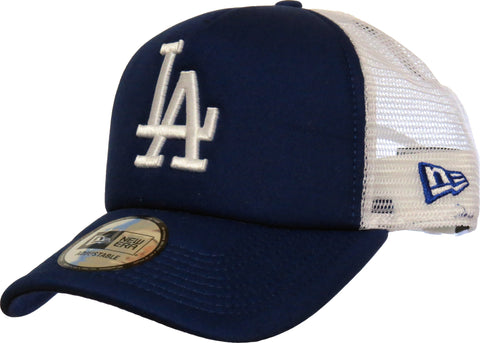 LA Dodgers New Era MLB Clean Trucker Royal Blue Cap - pumpheadgear, baseball caps