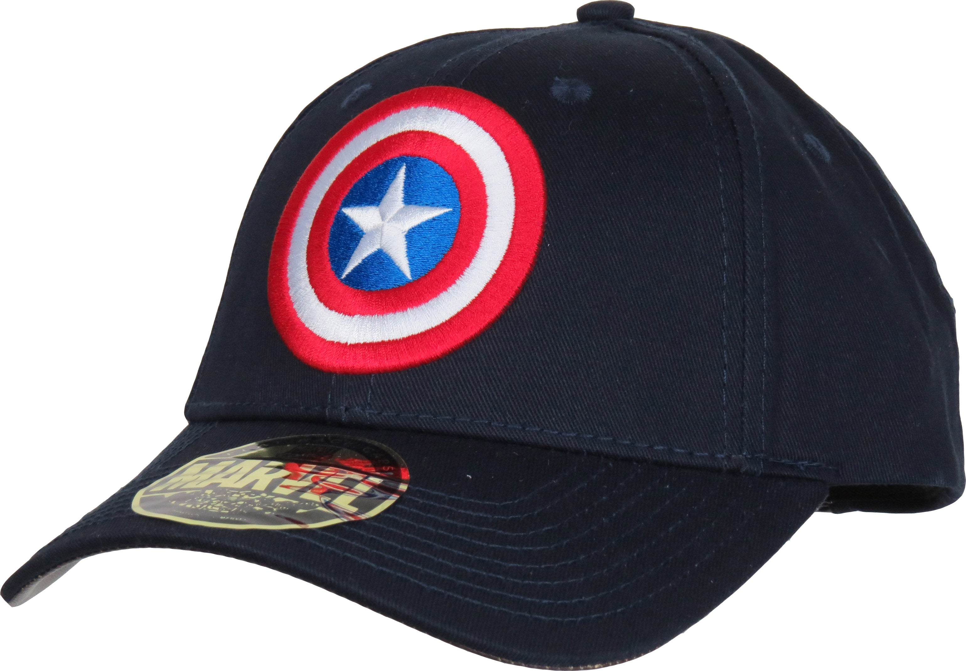 a3a9d510545 Marvel Comics Captain America Classic Logo Adjustable Cap - pumpheadgear