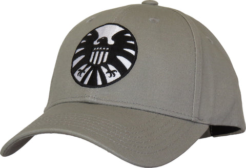 Marvel Avengers Captain Marvel SHIELD Vintage Logo Cap - pumpheadgear, baseball caps