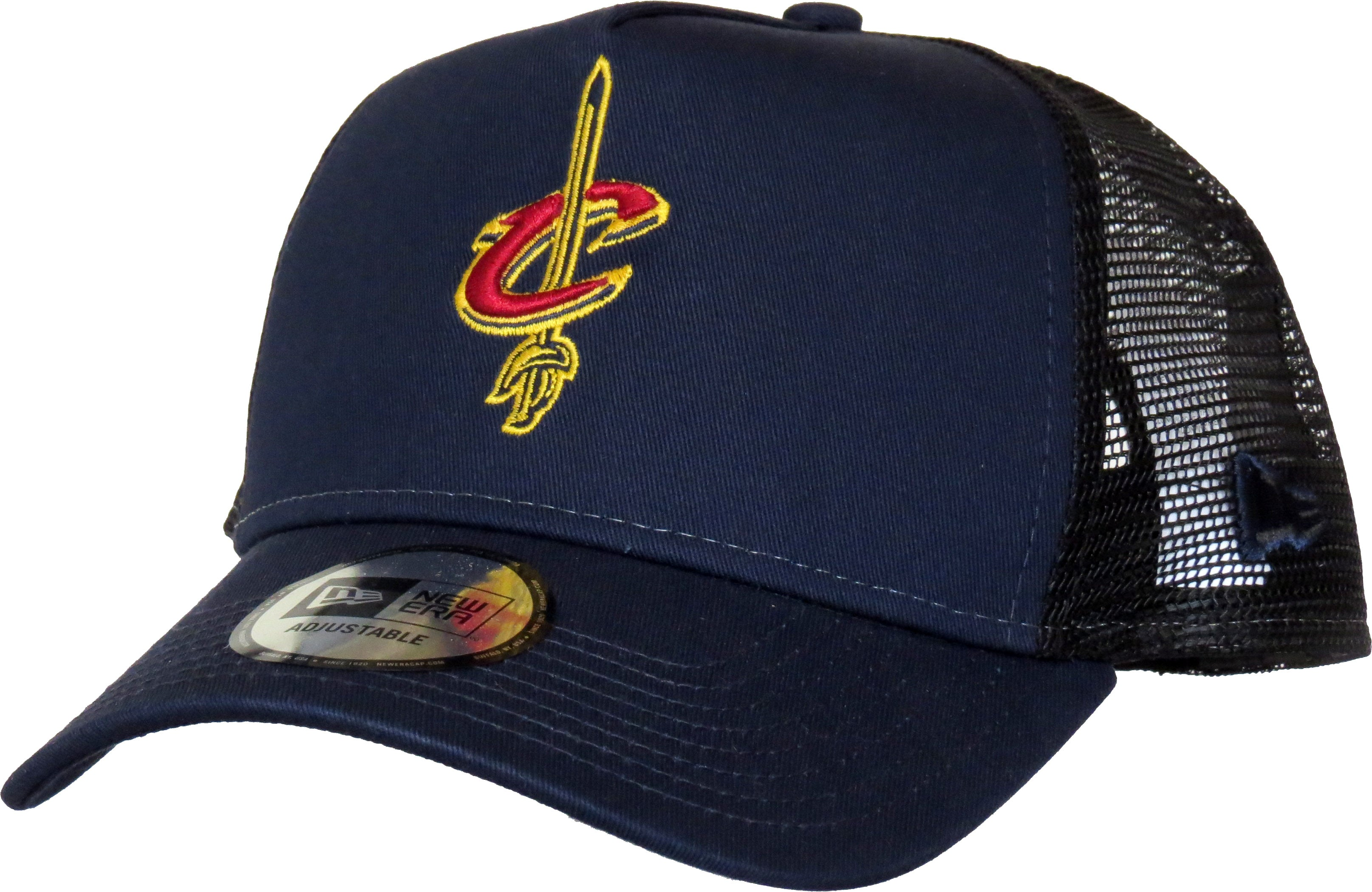 d834ff6d144 Cleveland Cavaliers New Era Reverse Team Trucker Cap - pumpheadgear