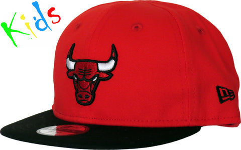 Chicago Bulls New Era 950 Kids Essential Infant Snapback Cap ( 0 - 2 years old ) - pumpheadgear, baseball caps