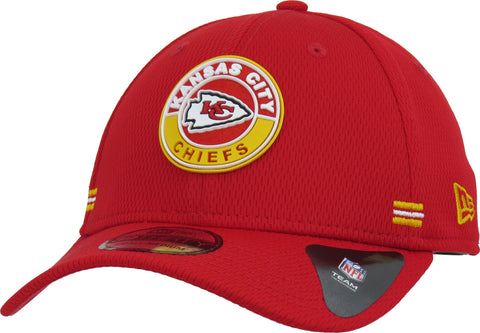 Kansas City Chiefs New Era 3930 NFL 2020 Alt Road Stretch Fit Cap