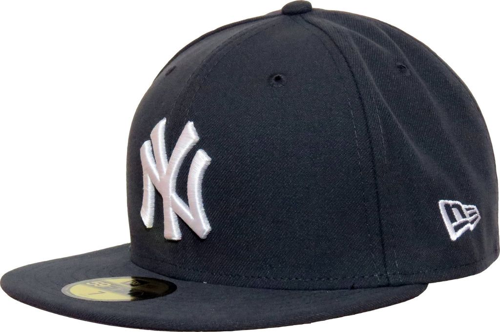 NY Yankees New Era 5950 MLB Dark Grey Baseball Cap + Gift Box - pumpheadgear, baseball caps