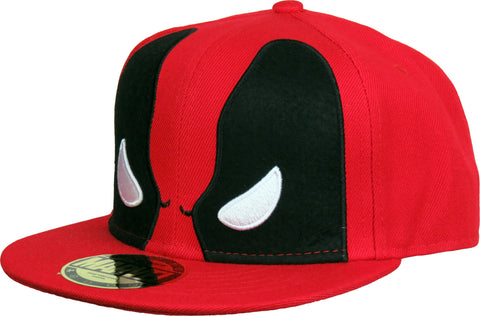 Marvel Comics Deadpool 'Angry Eyes' Snapback Cap - pumpheadgear, baseball caps