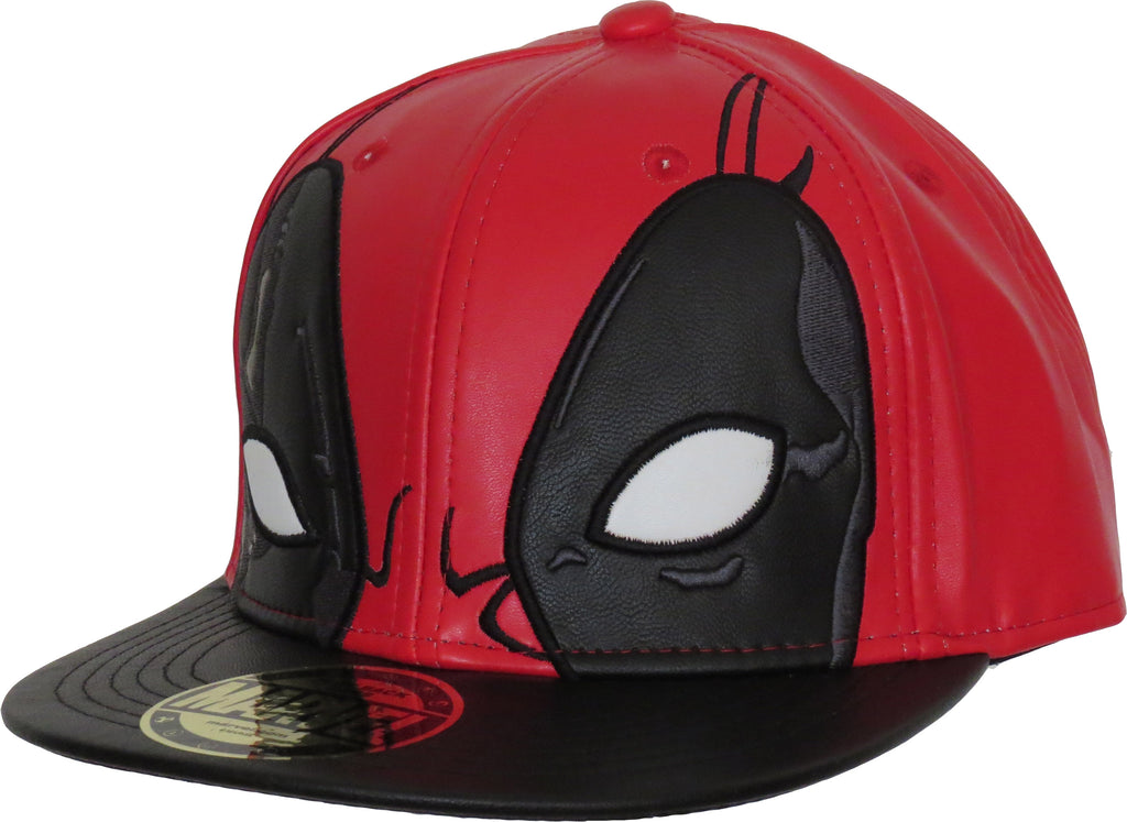 Marvel Comics Deadpool Mask Snapback Cap - pumpheadgear, baseball caps