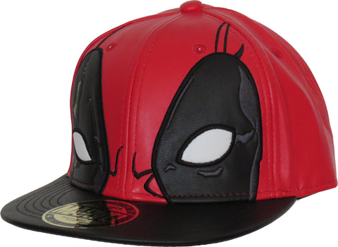 Marvel Comics Deadpool Mask Snapback Cap