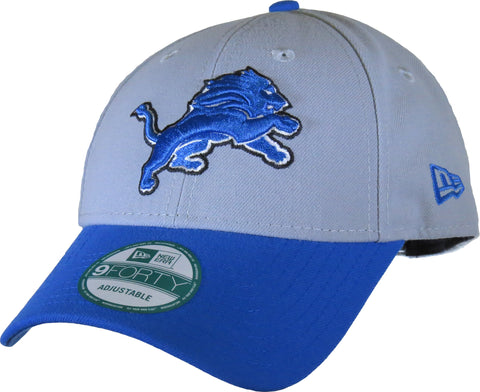 Detroit Lions New Era 940 The League NFL Adjustable Cap - pumpheadgear, baseball caps