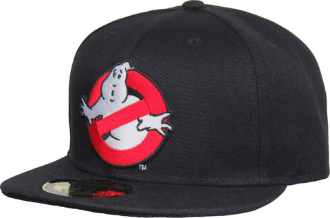 Ghostbusters Black Snapback Cap - pumpheadgear, baseball caps