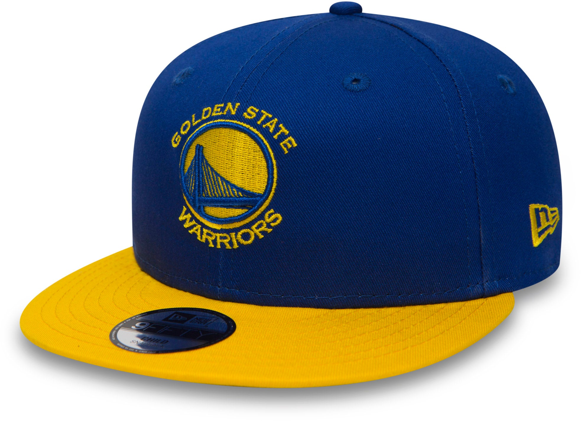 0c3ae7d5cb511 Golden State Warriors New Era 950 Kids Essential Snapback Cap (Ages 5 - 10  years
