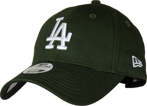 b72b982ed1a LA Dodgers Womens New Era 940 League Essential Green Baseball Cap -  pumpheadgear