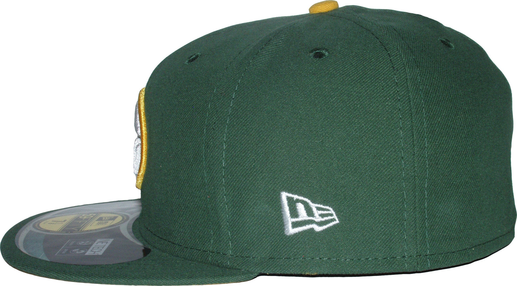 2c8993e7789 ... New Era 59Fifty NFL On Field Green Bay Packers 5950 Game Cap + Gift Box  ...