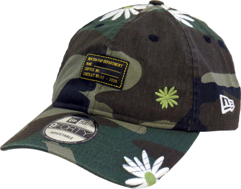 New Era 940 Military Flower Camo Baseball Cap - pumpheadgear, baseball caps