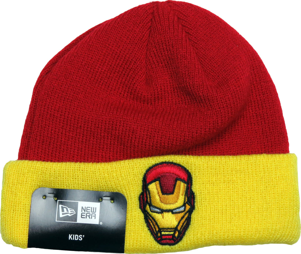 Iron Man New Era Infants Hero Cuff Beanie (0 - 2 years) - pumpheadgear, baseball caps