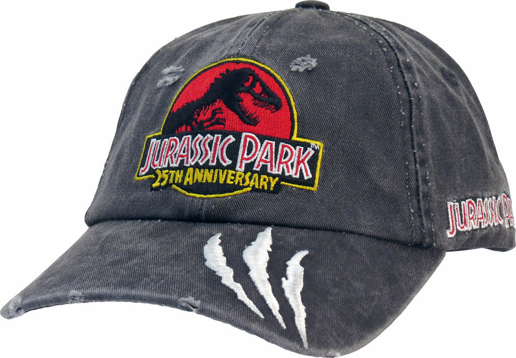 Jurassic Park Vintage Grey Destroyed Cap