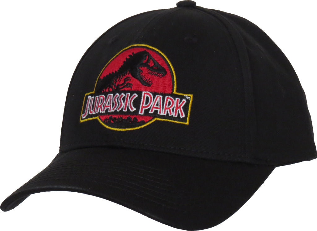 Jurassic Park Adjustable Black Cap - pumpheadgear, baseball caps