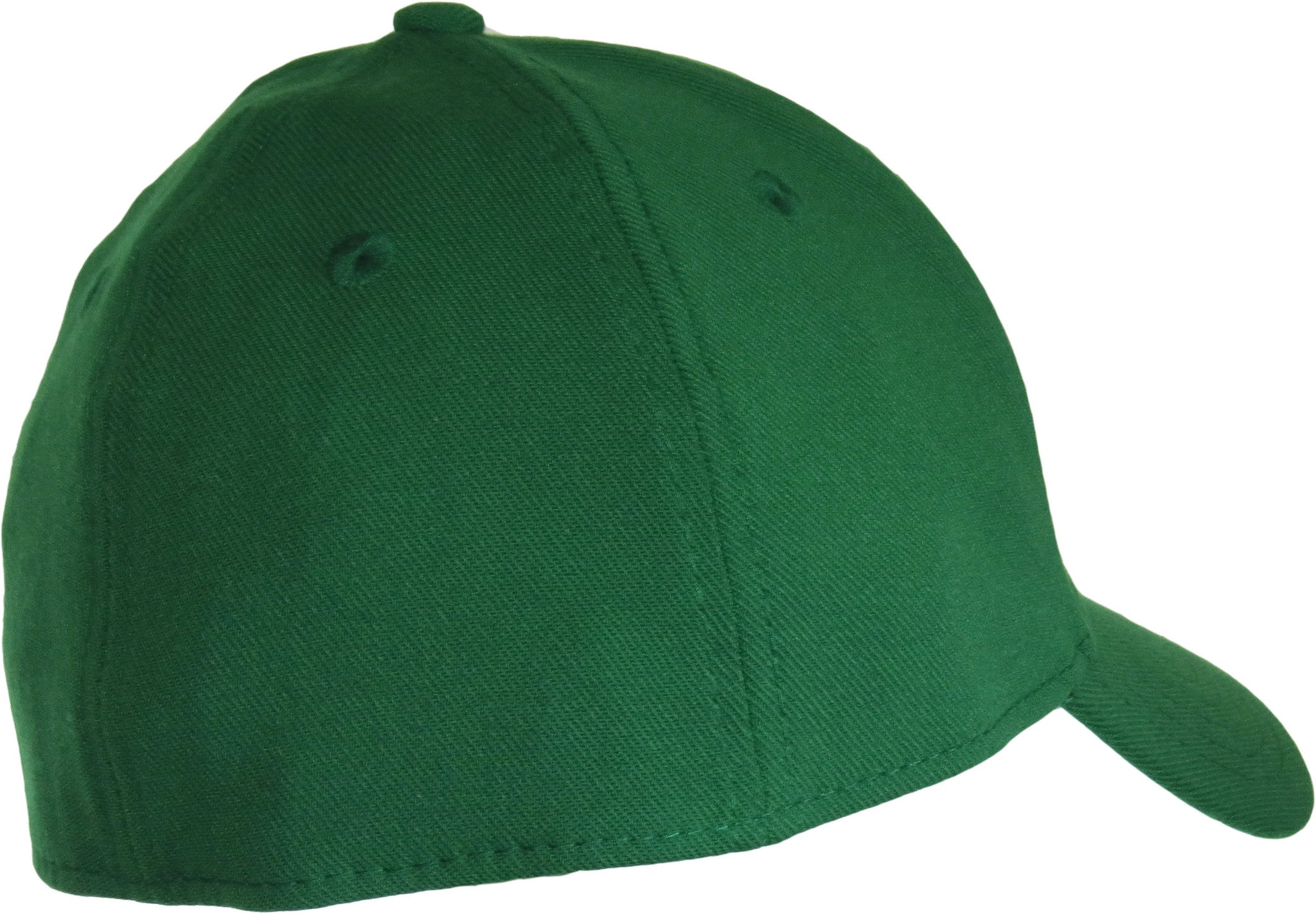 8b59436a34e ... New Era 3930 Classic Curved Peak Stretch Fit Plain Kelly Green Baseball  Cap - pumpheadgear