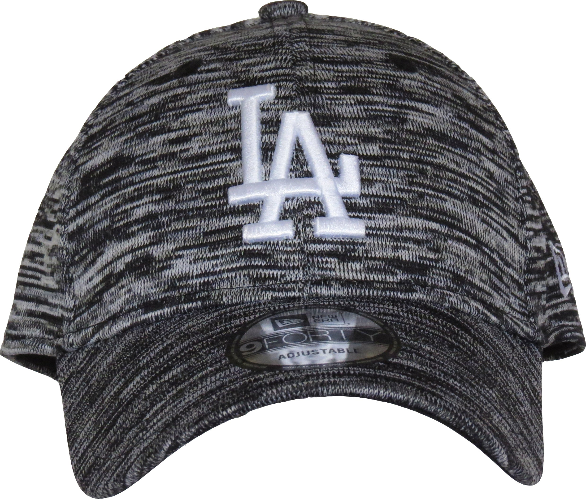 98b90760ed1 ... LA Dodgers New Era 940 Engineered Fit Black Baseball Cap - pumpheadgear