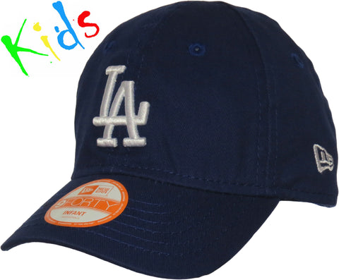 LA Dodgers New Era 940 My 1st Stretch Fit Infants Blue Cap (0-2 years) - pumpheadgear, baseball caps