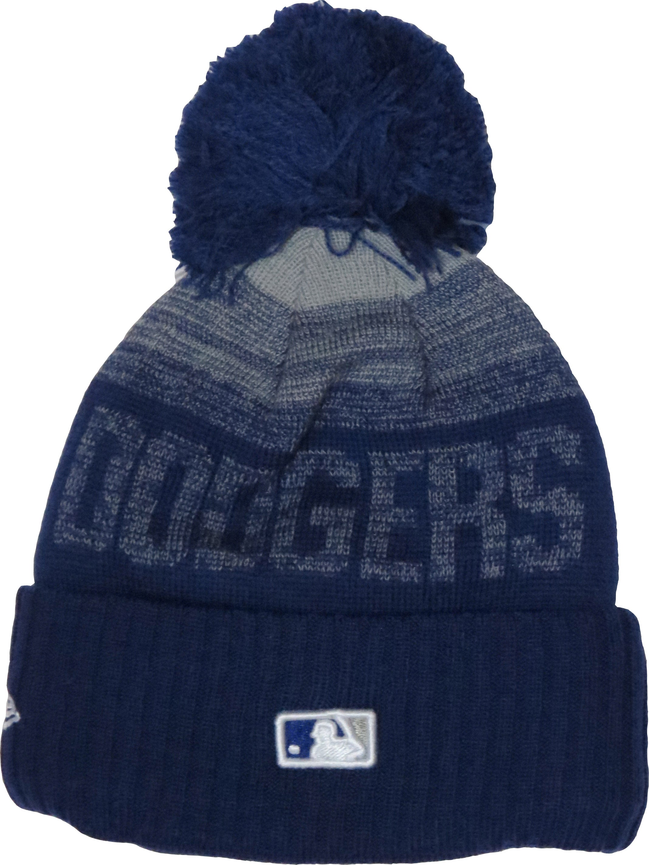 bf198040a73 LA dodgers New Era Kids Sport Knit Bobble Hat (Ages 2 - 10 years ...