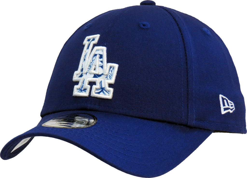 LA Dodgers Kids New Era 940 Infill Blue Baseball Cap (Ages 2 - 10 years) - pumpheadgear, baseball caps