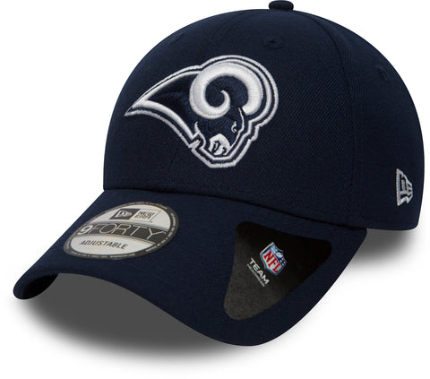 Los Angeles Rams New Era 940 The League NFL Adjustable Cap - pumpheadgear, baseball caps