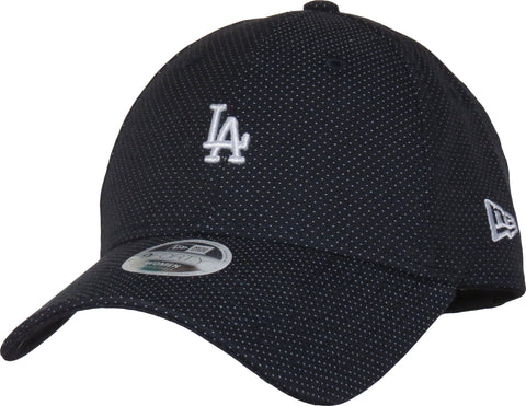 LA Dodgers Womens New Era 940 Polka Dot Navy Baseball Cap
